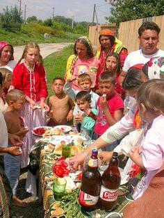 gypsy / rrom near to the Social Center (Romania)