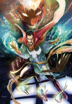 Doctor Strange by Peter Nguyen #comics #art