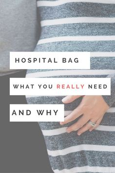 Are you tired of reading the endless hospital bag checklists and wondering what you will ACTUALLY need on delivery day? If so, this post is for you!