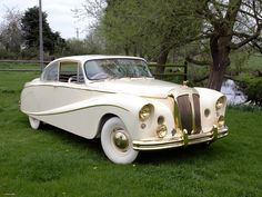 1955 Daimler DK 400A Golden Zebra coupe by Hooper