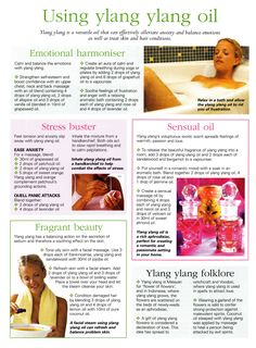 Young Living Essential Oil: Ylang Ylang for Anxiety Stress   www.theoildropper.com
