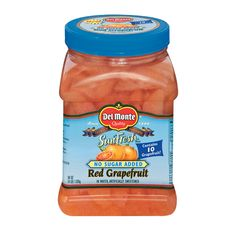 Addicting... great healthy snack to cut fat with citrus power!!! No Sugar Added Red Grapefruit 64 oz. | Products | Del Monte