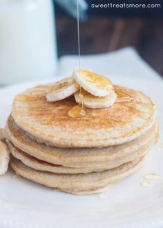 Banana Protein Pancakes Recipe || Sweet Treats and More