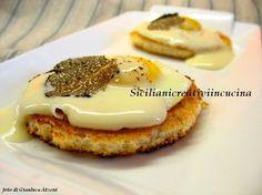 Uova di quaglia con tartufo nero e fonduta di taleggio