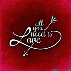 ALL YOU NEED IS LOVE #mysticquote