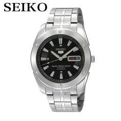 Cheap watch chain, Buy Quality watch uhf directly from China watch slim Suppliers: SEIKO Watch Shield Business Leisure Week Calendar Steel Band Machinery Men 'S Watch Sport Watches, Watches For Men, Seiko 5 Watches, Automatic Watch, Casio Watch, Watch Bands, Luxury Branding, Omega Watch, Calendar