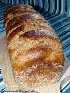 Zdrowy chleb maślankowy z dodatkiem mąki żytniej - zajadać ze smakiem :)