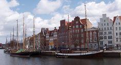 Die Hanse - Entwicklung Lübecks alter Hafen mit Speicherhäusern