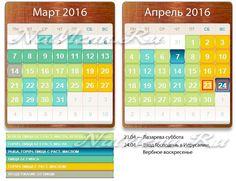 Как питаться в Великий пост 2016 по дням: календарь питания