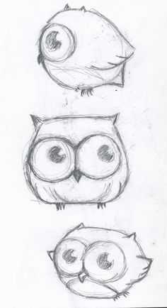 tumblr things to draw cute owl - Google Search