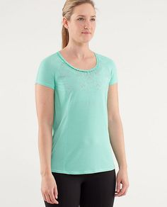 Mistake. Bought a tee in this minty colour. Not a good colour on me and doesn't work with a lot of my wardrobe. #stilllearning