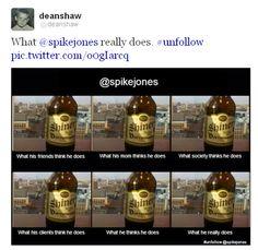 Unfollow @spikejones Special Meme Edition