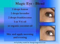 Essential oils for wrinkles.  Magic Eye Blend