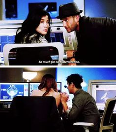 Scorpion- Walter, Paige, Toby and Happy