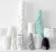 The Minimalist - Faceture Candlesticks by Phil Cuttance