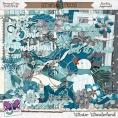 Scrap all of your Winter memories with Winter Wonderland digital scrapbook kit by Triple J Designs. The beautiful color palette is full of cool blues and is perfect for capturing the chilly fun of your Winter adventures. http://www.scraps-n-pieces.com/store/index.php?main_page=product_info&cPath=66_216&products_id=13669