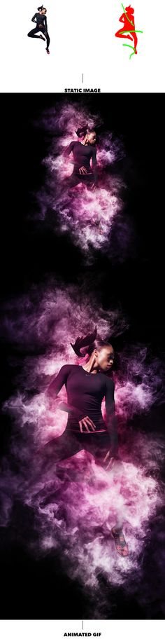 Beautiful animated and realistic Photoshop Action convert your images into professional art work with smoke effect.      Preview fil...