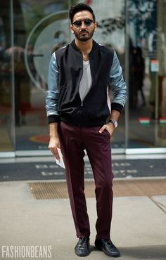 Need inspiration? We photograph the world's most stylish men on a daily basis. Browse our full street style gallery now at FashionBeans.