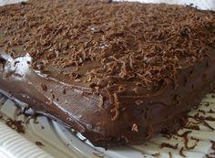 Bolo de Chocolate Trufado (vegan)