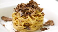 #Truffle is better than any other topping on spaghetti at Avalon Beverly Hills