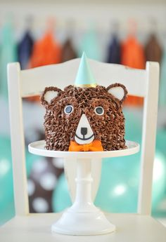 Happy Wish Company is sharing a delightful woodland bear party perfect for your little explorers. Find out how to recreate this woodland adventure. Birthday Cake Kids Boys, Birthday Gifts For Teens, Bear Birthday, Boy Birthday Parties, Birthday Wishes, Cake Birthday, Husband Birthday, Birthday Ideas, Birthday Nails