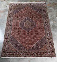 "Hand Woven Tabriz Rug or Carpet, 6' 8"" x 10' 5"""
