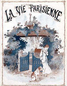 René Préjelan. La Vie Parisienne, 24 Juillet 1915. [Pinned 6-vi-2015]