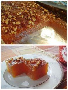 """Νόστιμη συνταγή μαγειρικής από """"Tzela Antonopoulou-ΟΙ ΧΡΥΣΟΧΕΡΕΣ / ΗΔΕΣ"""" Υλικά 3/4 φλ. αραβοσιτελαιο η ηλιέλαιο(και λίγο λιγότερο) 2 φλ. νισεστε 3 φλ. ζάχαρη 4 φλ. νερό 6-7 κ.σ ζάχαρη για το καραμελωμα στην επιφανεια 1/2 φλ. Αμυγδαλα Greek Desserts, Greek Cooking, Sweet Recipes, French Toast, Food And Drink, Sweets, Breakfast, Pastries, Instagram"""