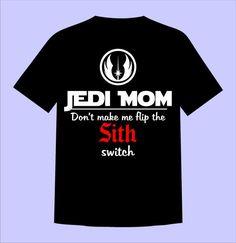 Star Wars Jedi Mom Shirt Perfect for Family por SugarCoatedDreams