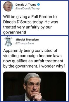 SO --I suppose ROSIE and other deomcrats will go to jail and be convicted like D' Souza??? Oh wait---not a peep from liberals on THAT!