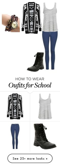 """""""Back to school #5"""" by madeinchina03 on Polyvore featuring M&S Collection, Project Social T, women's clothing, women's fashion, women, female, woman, misses and juniors"""