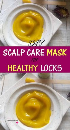 DIY scalp care mask for healthy hairs. Get rid of flaky dandruff, once and for all, with this homemade scalp treatment. Here is a detailed recipe on making this herbal mask. #diy #scalpcare #mask Homemade Hair Treatments, Dry Itchy Scalp, Diy Beauty Projects, Holistic Approach To Health, Soap Making Recipes, Diy Lotion, Diy Hair Mask, Natural Beauty Tips