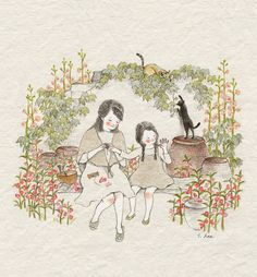 By Greenivy76. Kitties. ^_^