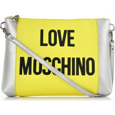 Love Moschino BAG chiara-pl zolty