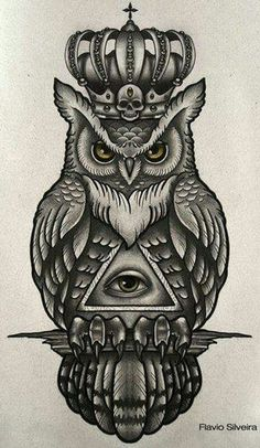 35 Traditional Owl Tattoo Meaning - 35 Traditional Owl Tattoo Meaning tattoo drawing paintings search result at paintingvalley simple - Tribal Owl Tattoos, Leg Tattoos, Body Art Tattoos, Sleeve Tattoos, Tattoos For Guys, Tattos, Owl Tattoo Drawings, Tattoo Sketches, Tattoo Owl