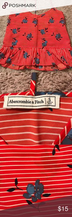 NWOT Abercrombie & Fitch tank. Never worn NWOT Abercrombie & Fitch tank. Never worn Abercrombie & Fitch Tops Tank Tops
