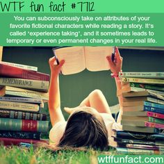 Experience taking - WTF fun facts