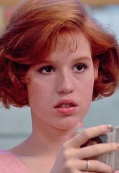 I named MC after Molly Ringwald. Totally fitting lately with her red hair she's had :)