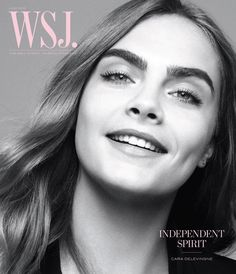 Cara Delevingne for WSJ June 2015 Cover