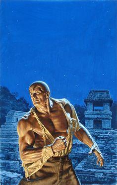 Doc Savage Cover Art - Bob Larkin