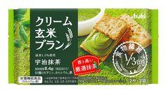 Amazon | アサヒグループ食品 クリーム玄米ブラン宇治抹茶 72g×6袋 | クリーム玄米ブラン | シリアル 通販