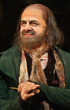Rowan Atkinson as Fagin in Oliver