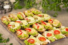 Catering on pinterest for Canape receptai