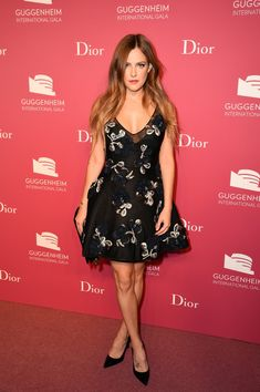 Riley Keough attends the 2015 Guggenheim International Gala Pre-Party made possible by Dior at Solomon R. Guggenheim Museum on November 4, 2015 in New York City.