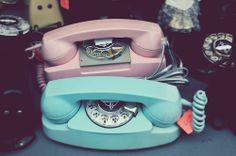 Pastel vintage dial ups. Very eighties. Love them. dstele.com