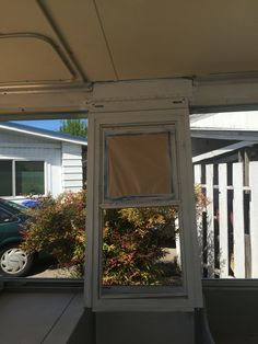 Spray painting the pop up front door Pop Up Trailer, Trailer Remodel, Up Front, Remodeled Campers, Spray Painting, Windows, Doors, Life, Window