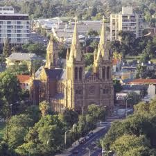 Beautiful Church In Adelaide South Australia - some really lovely architecture here! Adelaide is often called the city of churches and pubs.