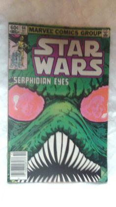 """STAR WARS-""""SERPHIDIAN EYES""""-VOL 1,NO.64 OCTOBER 1982-MARVEL COMICS"""