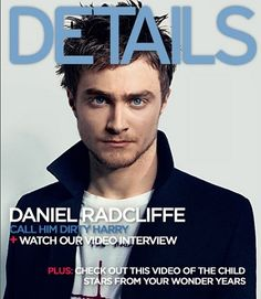 Daniel Radcliff has grown up to be a good looking man! Crazy to have seen him go from little Harry under the stairs in the cupboard to this!