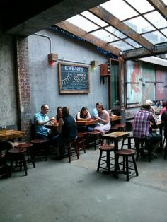Mission Dolores, a pet friendly beer bar.